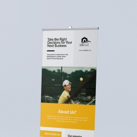 Corporate Rollup Banner