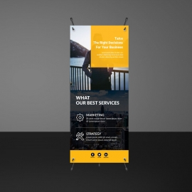 Corporate Rollup Banner Banners Template