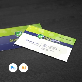 Corporate Simple Business Card