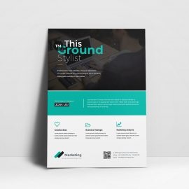Corporate Style Flyer Template