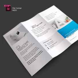Corporte Business Trifold Brochure
