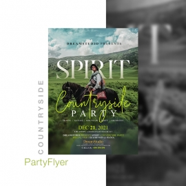 Countryside Event & Party Flyer