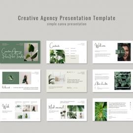 Creative Agency Presentations Template