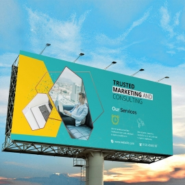 Creative Billboard Banner Sinage