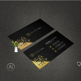 Creative Black & Dark BusinessCard