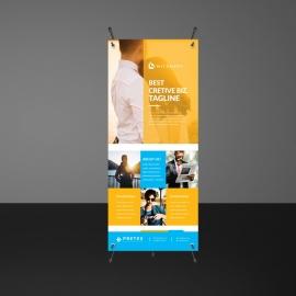 Creative Boxs Design Rollup Banners
