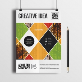 Creative Business Abstract Flyer