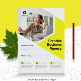 Creative Business Agency Flayer