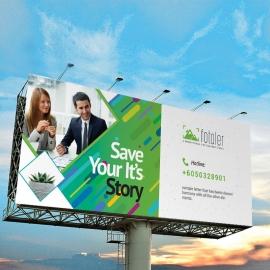 Creative Business Billboard Sinage
