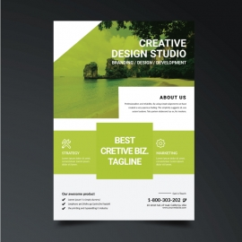 Creative Business Boxs Flyer