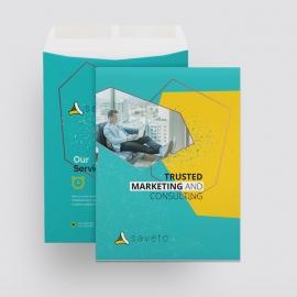 Creative Business Catalog Envelope