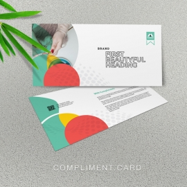Creative Business Compliment Card