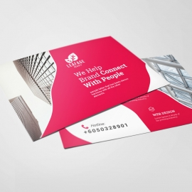Creative Business  Postcard