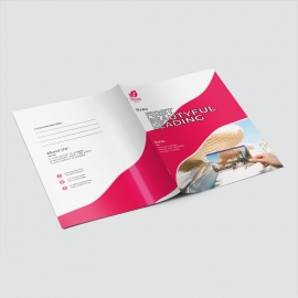 Creative Business Presentation Folder