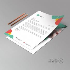 Creative Business Professional Letterhead