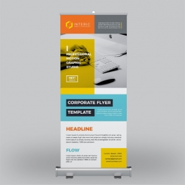 Creative Business Roll-Up Banner