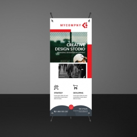 Creative Business Rollup Banners