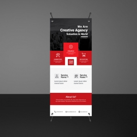 Creative Business Rollup Banners Template