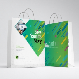 Creative Business Shopping Bag