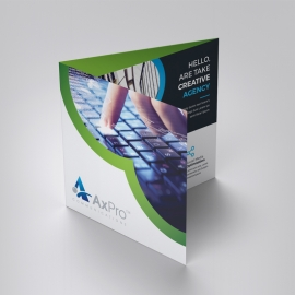 Creative Business Square TriFold Brochure