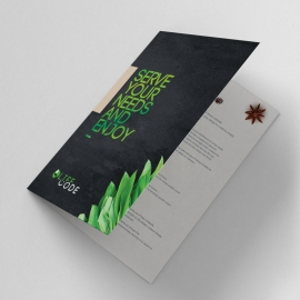 Creative Clean Bifold Brochure