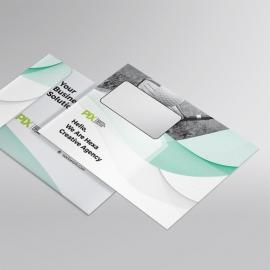 Creative Clean Business  B5_Envelope