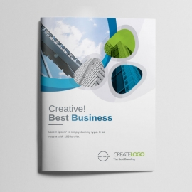 Creative Clean Business Bifold Brochure