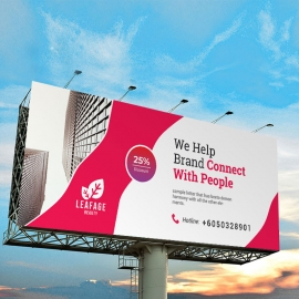 Creative Clean Business Billboard Banner