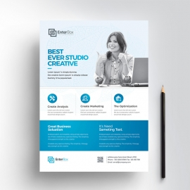 Creative Clean Business Flyer Design