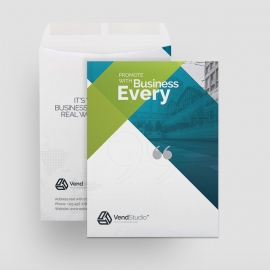 Creative Clean Catalog Envelope