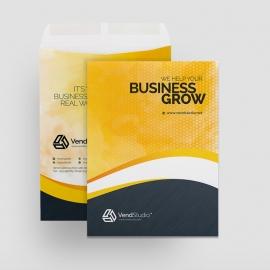 Creative Clean Catalogue Envelope
