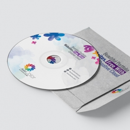 Creative Clean CD Sticker