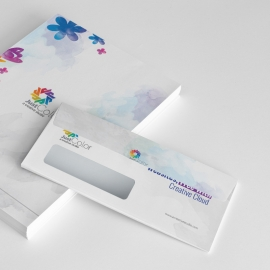 Creative Clean Commerial Envelope