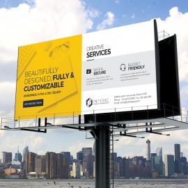 Creative Clean Corporate Billboard