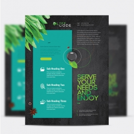 Creative Clean Corporate Flyer
