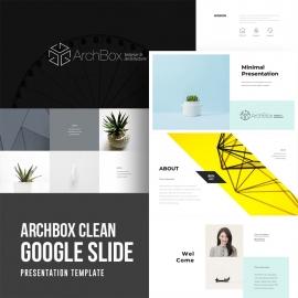 Creative Clean Google Slide Presentation Template