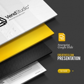 Creative & Clean Google Slide Presentation Template