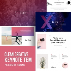 Creative Clean Keynote Template