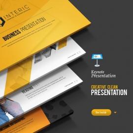 Creative & Clean Keynote Template