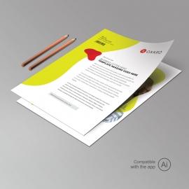 Creative Clean Letterhead