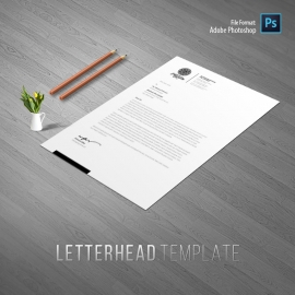 Creative Clean Letterhead Design