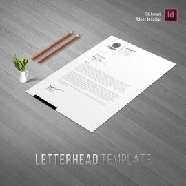 Creative Clean Letterhead Design