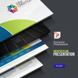 Creative-Clean Powerpoint Presentation