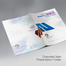 Creative Clean Presentation Folder
