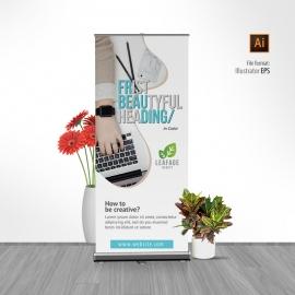 Creative Clean Rollup Banner