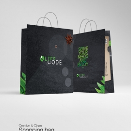 Creative Clean Shopping Bag