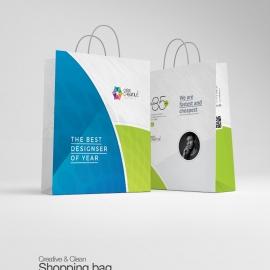 Creative Clean Shopping Bag