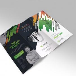 Creative Clean Trifold Brochure Design