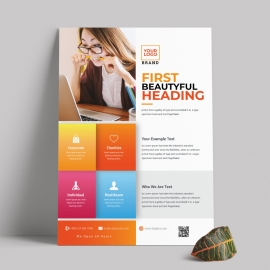 Creative Colorful Business Flyer