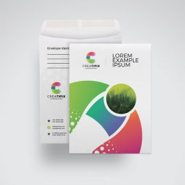 Creative Colorful C4 Envelope Catalogue